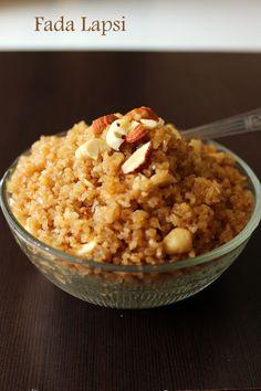 VegRecipeWorld: Recipe of Lapsi | How to Make Fada Lapsi