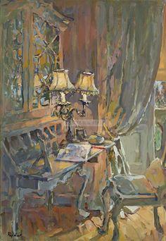 Susan Ryder The Painted Desk