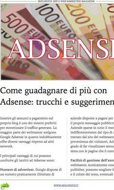 """SeoLogico Magazine (<a href=""""https://www.google.com/url?q=http://www.seologico.it&sa=D&usg=AFQjCNFGbnSHWaqN5pE7qHyrQxUmtWZVEQ"""" target=""""_blank"""">http://www.seologico.it</a>) è la prima ed unica rivista in Italia che si occupa di Seo e Web Marketing. Ogni mese saranno pubblicati nuovi articoli che sveleranno l'esatte strategie utilizzare per posizionare un sito in cima ai motori di ricerche. Inoltre, verranno trattati temi come il Social Media Marketing (Facebook, Twitter, YouTube), AdSense…"""