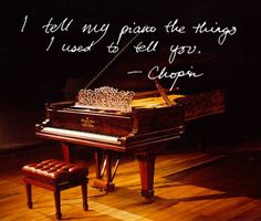Chopin quote.