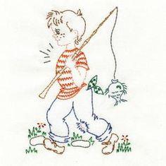 OregonPatchWorks.com - Sets - Vintage Children of the Month