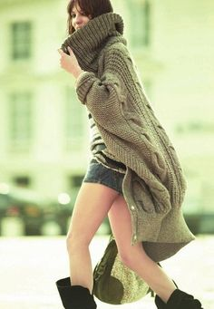 ed548a9316 27 Best Oversized cable knitted sweaters images