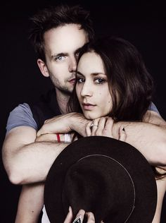 """plldailly: """" Troian Bellisario and Patrick J. Adams photographed by Zack DeZon. """" Zack DeZon is the best. Troian Bellisario, Perfect Couple, Best Couple, Pretty Little Liars, Patrick J Adams, Spencer And Toby, Spencer Hastings, Famous Couples, Tumblr"""
