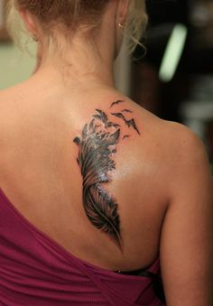 50 Beautiful Feather Tattoo Designs   Cuded