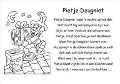 Versje Sinterklaas 2013