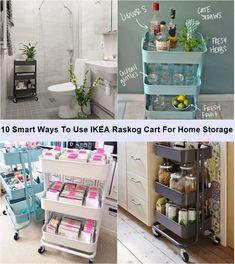 awesome 10 Smart Ways To Use IKEA Raskog Cart For Home Storage