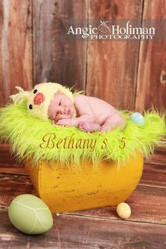 Chick baby Easter chin strap hat   Photo Prop SALE by Bethanys5, $20.00