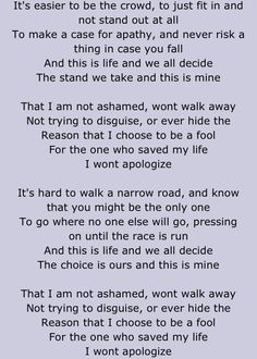 All In (Apologize) - Stellar Kart Dont You Know, If You Love Someone, Love The Lord, Gods Love, Jamie Grace, Greatest Commandment, Bad Image, Love Your Neighbour, Make A Case