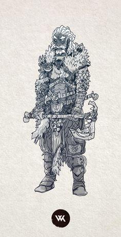 Art by Will Kirkby* • Blog/Website   (http://chamonkee.tumblr.com) ★…