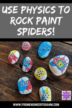 Rock Painting for Kids inspired by #TinkerCrate! After building a spin art machine, our Tinker Crate inspired us to think outside the box. Order Tinker Crate today, and get inspired! #affiliate