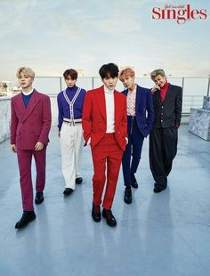 •161214 BTS for SINGLES Magazine January 2017 issue