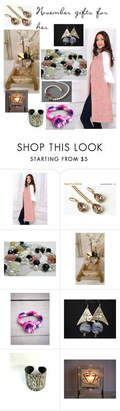 """""""November gifts for her"""" by varivodamar ❤ liked on Polyvore featuring Swarovski and modern"""