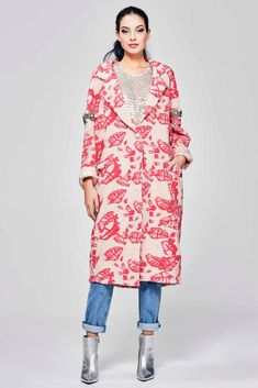 f10d2f9f1216 GOSSIP PEARL Coat - Trelise Cooper-Jackets   Coats   Trelise Cooper Online  - PINK