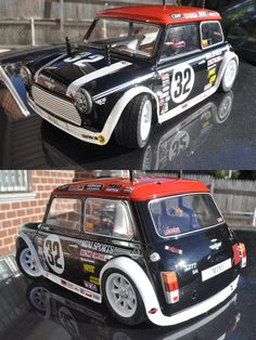 My new Tamiya Mini Cooper project, 5 years in storage. Finally got time to paint and finish it.