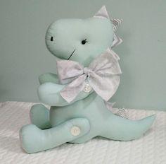 Create An Animal, Baby Dino, Sewing Toys, Crochet Animals, Plushies, Dinosaur Stuffed Animal, Teddy Bear, Baby Shower, Pattern