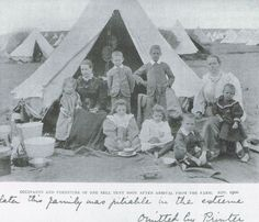 Boer War -- Boer family in a British concentration camp Saint Matthew, Victorian Men, Strange History, My Heritage, African History, World War Two, Vintage Photography, Family History, Vintage Photos