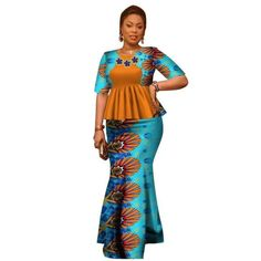 African Style 433753007862259669 - African Style Top and Long Skirt For Women Cotton Print Kitenge Ankara with Scarf Source by ziinuurd Latest African Fashion Dresses, African Dresses For Women, African Print Dresses, African Print Fashion, African Attire, African Women, Modern African Dresses, African American Fashion, Ankara Fashion