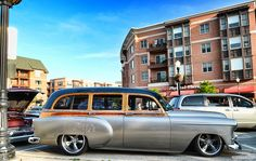 1953 Chevy Wagon by Chad Horwedel, via Flickr