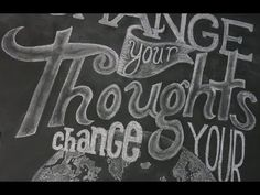 ▶ Draw & write beautifully on your chalkboard wall! - YouTube