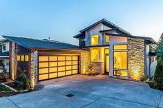 Dramatic Modern House Plan - 85191MS - 01
