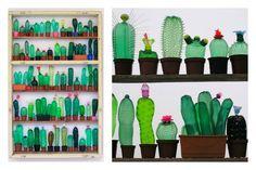 É il fenomeno del momento Veronika Richterovà, l'artista che trasforma le bottiglie di plastica in bellissime sculture vegetali e animali.