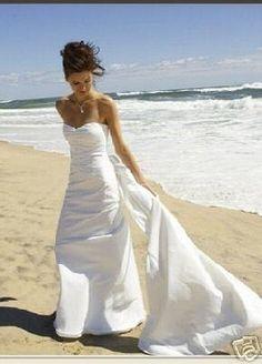 wedding dress hawaii