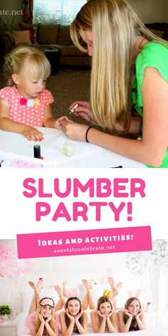 What I've learned about hosting a slumber party, and the ideas and activities you can do to make your sleepover the best party ever! Slumber Party Activities, Kids Party Games, Slumber Parties, Monster High Birthday, Ninja Turtle Birthday, Ninja Turtle Party, Carnival Birthday Parties, Birthday Party Games, Girl Birthday