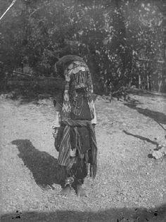 Een meo (voorvechter) in het westen van Timor. 1925