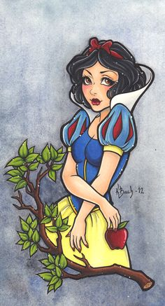 Snow White by *BlueUndine