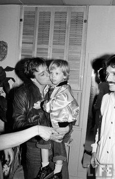 Mark Hamill with his son Nathan