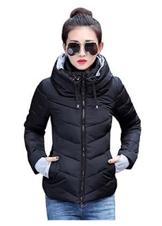 Cheap women parka, Buy Quality winter jacket women parkas directly from China winter jacket women Suppliers: AISHGWBSJ 2017 Winter Jacket Women Parkas Thicken Outerwear Solid hooded Coats Short Female Slim Cotton padded basic tops Winter Jackets Women, Coats For Women, Clothes For Women, Ladies Clothes, Dress Clothes, Outerwear Women, Outerwear Jackets, Warm Jackets, Women's Jackets