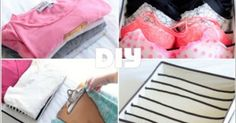 CollageofClothingOrganizationHacks | Bring Order to Your Clothing Chaos with These Brilliant Tricks