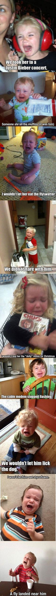 Why I don't want kids...........
