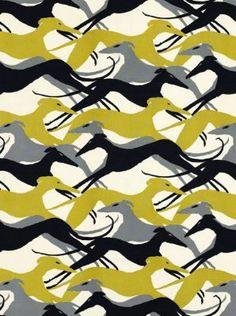 Diamond Dogs Fabric-  #CruiseinChartreuse