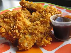 Better Than Burgers: Oven Fried Chicken Strips