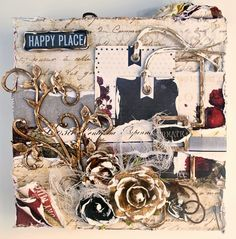 Happy Place Canvas - Creative Embellishments
