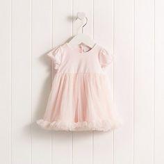 Baby Girls' Short Sleeve Ruffle Tutu Dress | The White Company