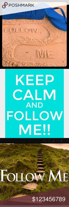 """My FIRST EVER follow game!!!!!!! Hello fellow Poshers!!!!! I am taking a crack at my 1st ever follow game on here!!! You all know the drill:  Follow me """"Like"""" this post!! Follow everyone on this list Feel free to tag any fellow poshers to keep it going!!  And then finally....... Share, Share, Share!!!   Check back frequently to add any new poshers!!!  We build and support each other by sharing each other's closets!!  Thank you all in advance!!!   ❤Marisa Other"""