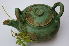Teapot by clayspoons on Etsy