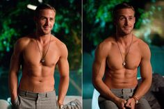 """Ryan Gosling """"Oh my god, are you photo-shopped?"""" -Emma Stone in 'Crazy Stupid Love' Ryan Gosling Shirtless, Pretty People, Beautiful People, Crazy Stupid Love, Look At You, My Guy, To My Future Husband, Sensual, Gorgeous Men"""