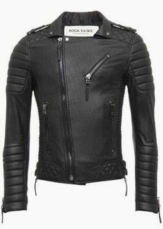Men's trendy jackets certainly are a vital component to every single man's set of clothes. Men require jackets for assorted functions and several varying weather conditions. Men's Jacket Wear. Leather Jacket Outfits, Men's Leather Jacket, Leather Men, Leather Jackets, Biker Jackets, Biker Leather, Men's Jackets, Light Denim Jacket Mens, Revival Clothing
