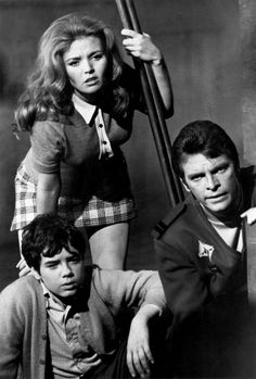 #Sixties | Deanna Lund, Gary Conway and Stefan Arngrim in Land of the Giants, 1968-70