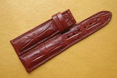 20mm Genuine Exotic crocodile alligator Skin Watch Strap Band