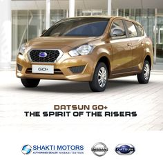 "#DatsunGo+ - Shakti Nissan ""The spirit of the risers! "" For More Details on this car: https://goo.gl/7sCjKx #Datsun #DatsunCars #MumbaiCars #CityCars"