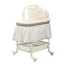 """Simmons Gliding Soothe Bassinet - Simmons Kids - Babies """"R"""" Us Baby Pack And Play, Baby Play, Baby Girl Bassinet, Baby Cribs, Baby On The Way, Our Baby, Baby Needs, Baby Love, Disney Princess Room"""