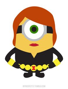 Minion Black Widow