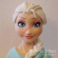 Elsa cake topper tutorial