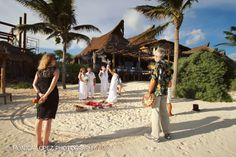 Mayan wedding in Tulum, Mexico