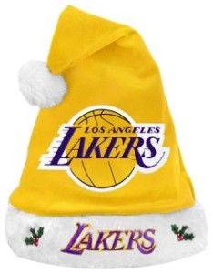 Los Angeles Lakers 2012 Santa Hat - BiggSports.com