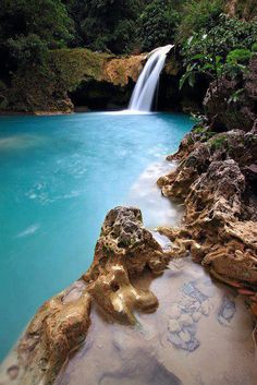 Tanap Avis Falls in Burgos, Ilocos Norte, Phillipines by Alford Places Around The World, Oh The Places You'll Go, Places To Travel, Places To Visit, Around The Worlds, Les Philippines, Philippines Travel, Palawan, Dream Vacations